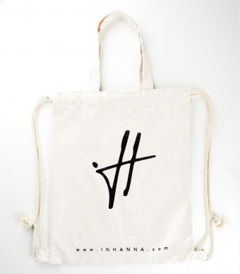 INHANNA Signature Drawstring Bag