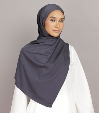 Shania Eyelash Shawl Dark Grey