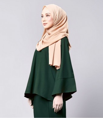 Isabelle Casual Kebaya Kimono Forest Green