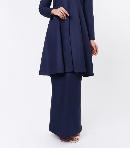 Basic Citra Kurung Riau Dark Blue