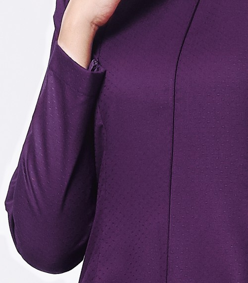 Basic Citra Kurung Riau Dark Purple