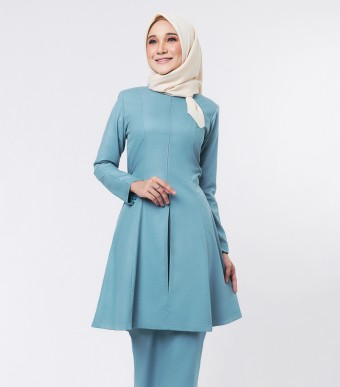 Basic Citra Kurung Riau Teal Green