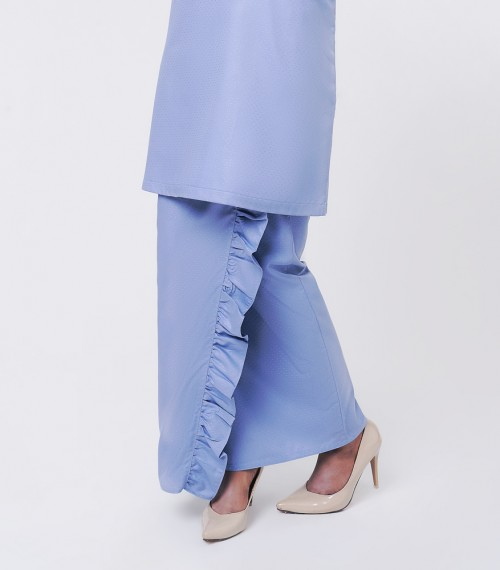 Basic Embun Kurung Loose Dusty Blue