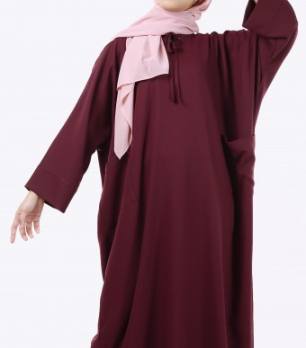 Ruuha Lounge Dress Burgundy