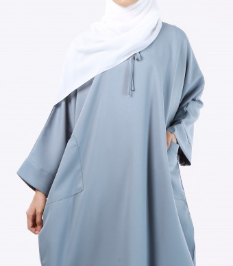 Ruuha Lounge Dress Steel Blue