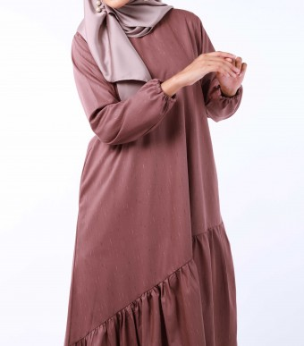 Puspa Tunik Rose Brown