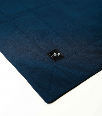 Mini Sejadah (Crepe) Dark Blue