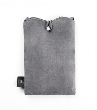 Aeda Scallop Bag Dark Grey