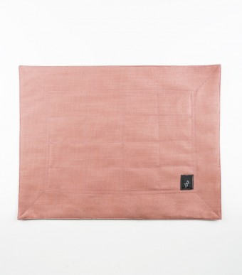Mini Sejadah (Linen) Dusty Pink