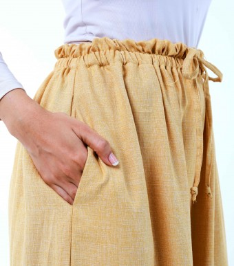 Bayu Pants Custard Yellow