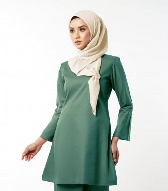 Gulinear Kurung Riau Pickle Green