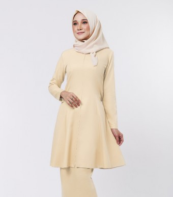 Basic Citra Kurung Riau Soft Yellow
