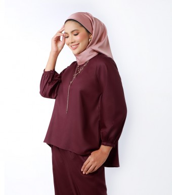 Elena Top Suit Burgundy