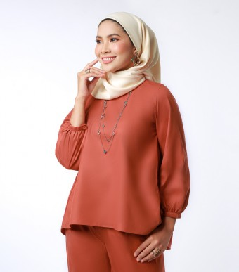 Elena Top Suit Burnt Orange