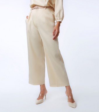 Elena Pants Suit Cream