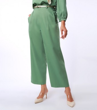 Elena Pants Suit Green Tea