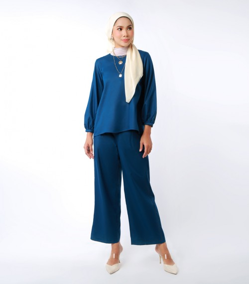 Elena Suit Indigo Blue