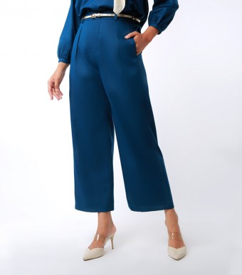 Elena Pants Suit Indigo Blue