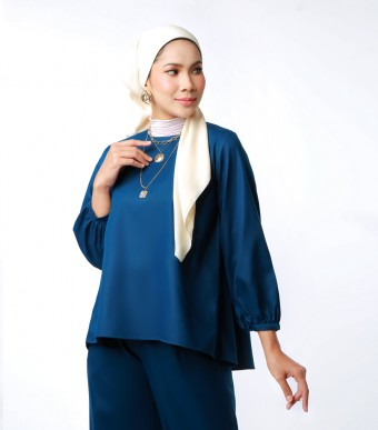 Elena Top Suit Indigo Blue