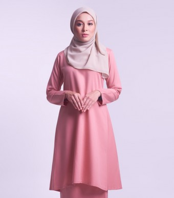 Jameela Kurung Riau Dusty Pink