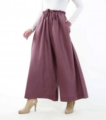 Jenna Pants (Linen) Mauve Purple