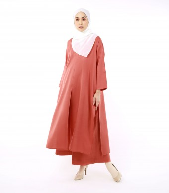 Jenna Kaftan (Top) Brick Red