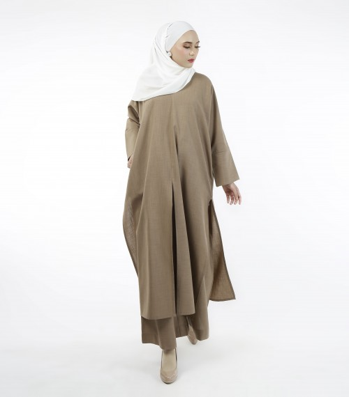 Jenna Kaftan (Top) Toffee Brown