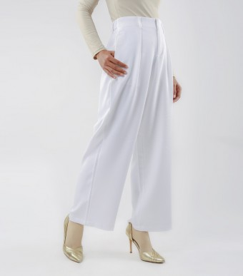 Najjah Pants White