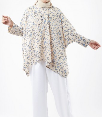Najjah Prints Flowery Cream