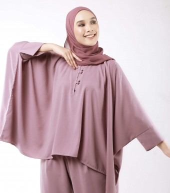 Najjah Kaftan Dusty Purple