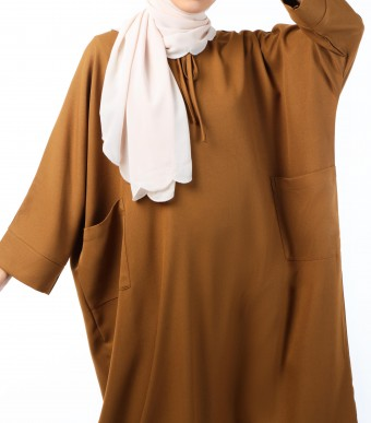 Ruuha Lounge Dress Caramel