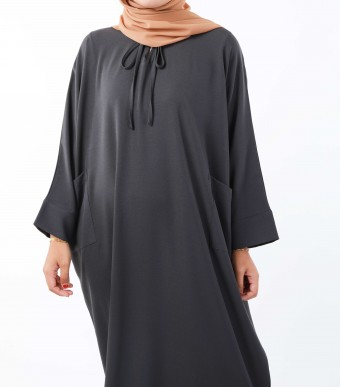 Ruuha Lounge Dress Dark Grey