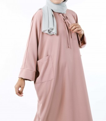 Ruuha Lounge Dress Dusty Pink