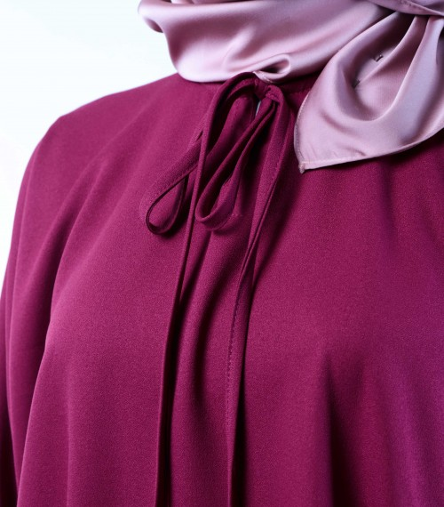 Ruuha Lounge Dress Magenta