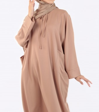 Ruuha Lounge Dress Nude