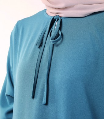 Ruuha Lounge Dress Teal Blue