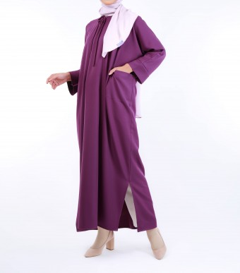 Ruuha Lounge Dress Violet Purple