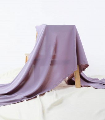 Sulam Rose Shawl Dusty Purple