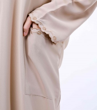 Rumi Dress Brown Latte