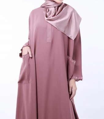 Rumi Dress Dusty Pink