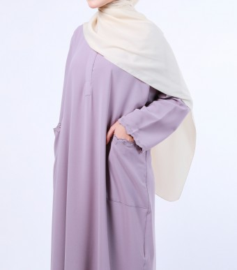 Rumi Dress Dusty Purple