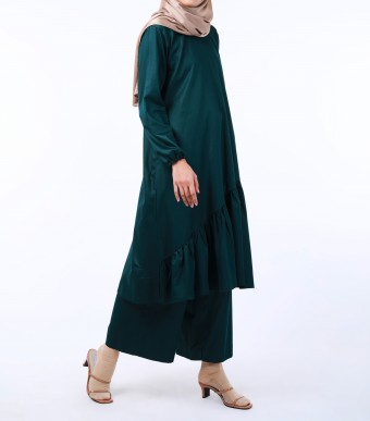 Puspa Tunik Dark Green
