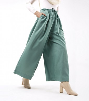Jenna Pants (Linen) Dusty Green