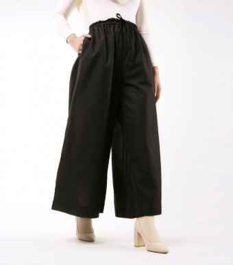 Jenna Pants (Linen) Black
