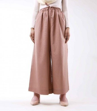 Jenna Pants (Linen) Dusty Pink