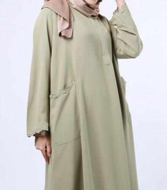 Rumi Dress Ash Green