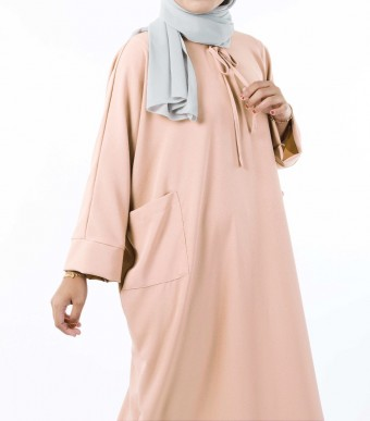 Ruuha Lounge Dress Beige