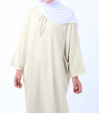 Ruuha Lounge Dress Creamy